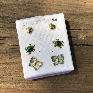 Jewelry - Set of 3 Earrings